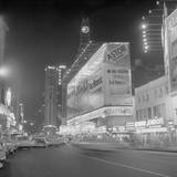 Hotel Astor and Theater in times Square Photographic Print