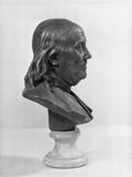 Profile of Benjamin Franklin Statue Photographic Print