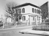 Exterior of Early American Synagogue Photographic Print