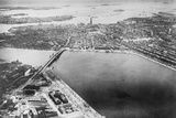 Aerial View of Boston Photographic Print