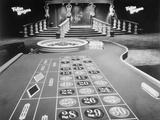 Interior of Casino Photographic Print