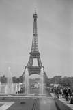 View of the Eiffel Tower Photographic Print by Philip Gendreau