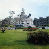 Plaza of San Martin Photographic Print