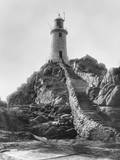 La Corbiere Lighthouse in the Jersey Channel Islands Photographic Print