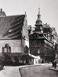 Old--New Synagogue Photographic Print