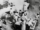 Operating Room Scene at Johns Hopkins Hospital Photographic Print