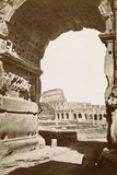 Colosseum Seen through the Arch of Titus Photographic Print