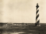 Lighthouse on Cape Hatteras Photographic Print