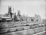 Steel Mill in Youngstown Ohio Photographic Print