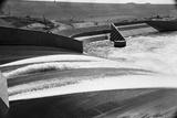 Water Running over the Mangla Dam Photographic Print