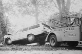 Tow Truck Towing Station Wagon Photographic Print