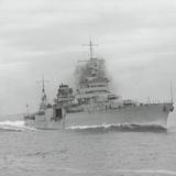 U.S.S. Indianapolis Sailing Photographic Print