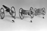 Flea Pulling Miniature Chariot Photographic Print by Joseph Schuppe