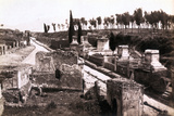 Pompeii's 'Street of Tombs' Photographic Print
