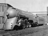 Streamlines Locomotive Fotografie-Druck