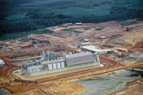 Aerial View of Pulp Mill Photographic Print