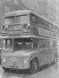 London's New Passenger Bus Photographic Print by John Eggitt