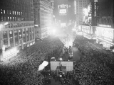 Times Square on New Years Photographic Print