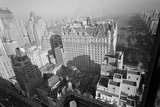 Aerial View of Manhattan and Central Park Photographic Print