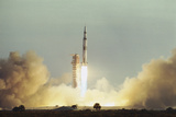 Apollo 8 Blasting Off Photographic Print