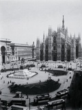 View of Piazza Del Duomo and Cathedral Photographic Print