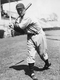 Baseball Player Bill Terry in Batting Stance Photographic Print