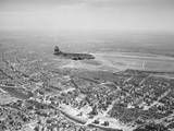 USAAF Vittles C-47 Skytrain Airplane above Berlin Photographic Print by Al Cocking