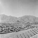 Aerial View of Villages of Kabul Photographic Print by Earnest Hoberecht