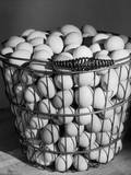 A Basket of Eggs Photographic Print