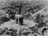 View of the Arc De Triomphe Photographic Print