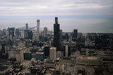 Sears Tower Nearing Completion Photographic Print