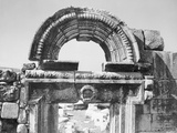 An Ancient Marble Portal from a Synagogue Photographic Print