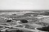 View of Glenn Martin Company Plant by Architect Albert Kahn Fotografiskt tryck