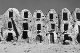Abandoned Ghorfas in Tunisia Photographic Print