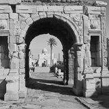 The Arch of Marcus Aurelius Fotografisk tryk