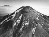 Glaciers on Mount Saint Helens Photographic Print