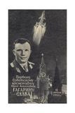 Soviet Cosmonaut Yuri Gagarin, 1961 Giclee Print