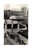 London, Coronation, King George VI, Westminster Abbey Giclee Print