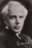Bela Bartok, Hungarian Composer and Pianist Photographic Print