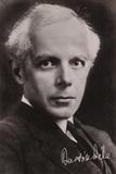 Bela Bartok, Hungarian Composer and Pianist Photographic Print