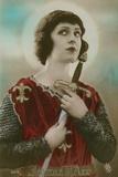 Jeanne d'Arc Fotografisk tryk