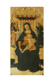 Madonna and Child Enthroned, 1511 Giclee Print