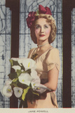 Jane Powell, American Actress and Film Star Photographic Print