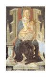 Madonna and Child, the Crypt of Saint Columban's Abbey, Bobbio, Emilia-Romagna, Italy Giclee Print