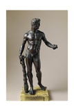 Hercules with Club and Apples of Hesperides, Bronze Statuette by Baccio Bandinelli Giclee Print