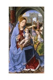 Madonna and Child with St Catherine, Ca 1495 Giclee Print