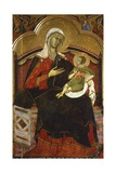 Enthroned Madonna and Child, 13th Century by an Unknown Italian Artist Giclee Print