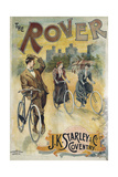 Rover J. K. Starley, Advertising Poster for Bicycles Giclee Print