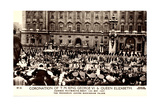 London, Coronation, King George VI, Queen Elizabeth Giclee Print