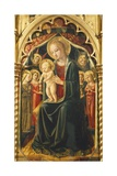 Altarpiece with Madonna with Child Giclee Print